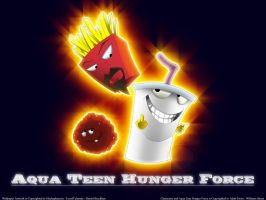Aqua Teen Hunger Force by Machaphasesix