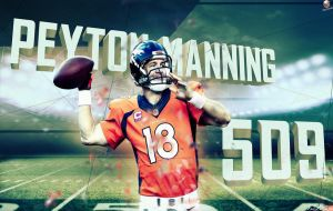 Mr. 509 : Peyton Manning by NO-LooK-PaSS