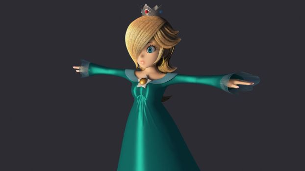 Maya Redevelop: Rosalina by fwcolbert
