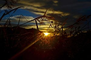 Baguio Sunset by z3LLLL