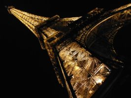 Eiffel Tower - Night by BudmeisterMatt