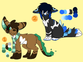 .: point auction adoptables :. (CLOSED) by Milkshake-Adopts