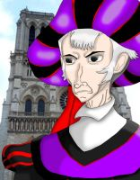 Judge Claude Frollo by chook-four
