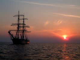 Tall Ship Astrid by Stratege