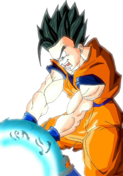 Render Gohan adulto by Poh2000