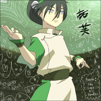 Toph - Avatar by p-doggie