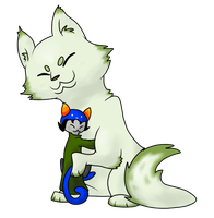 Nepeta and Pounce de Leon by N-suprem