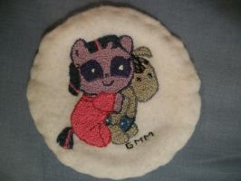 MLP-FIM Hand Embroidered Patch Twilight Sparkle by grandmoonma