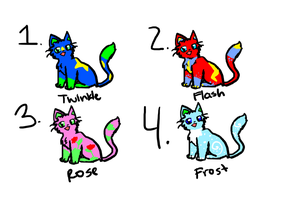 Adoptables Kittens by space--kitten