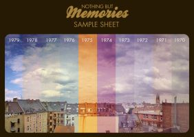 Samplesheet Memories Action by rawimage