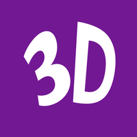 3D Movie Maker Modern UI and Uinvert Icons by Averon25