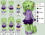 Discontinued CC Ref by FreckledAndSpeckled
