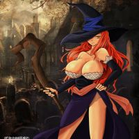 Bewitched  by Sorceress by Art-is-a-Explosion