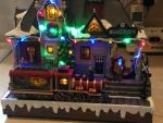 Xmas Train Station by lionessleesha