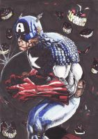 Cap ain't Scared of the Dark by boricuanart