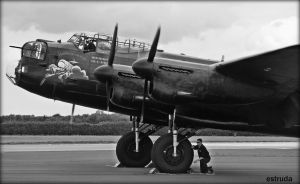 The Lancaster Bomber by Estruda