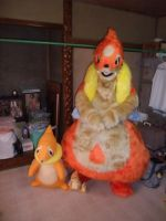 Floatzel fursuit by ensiryu