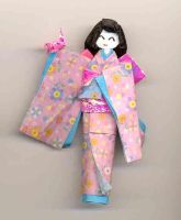origami doll3 by PitushaZee