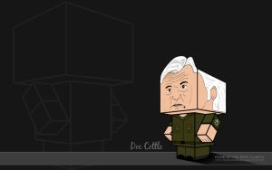 Doc Cottle Fatigues Wallpaper by BSG75