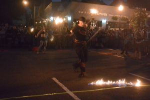 Ignite the Night Fire/Food Fest, Setting Afire by Miss-Tbones