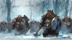 Dwarf Army by Mac-tire