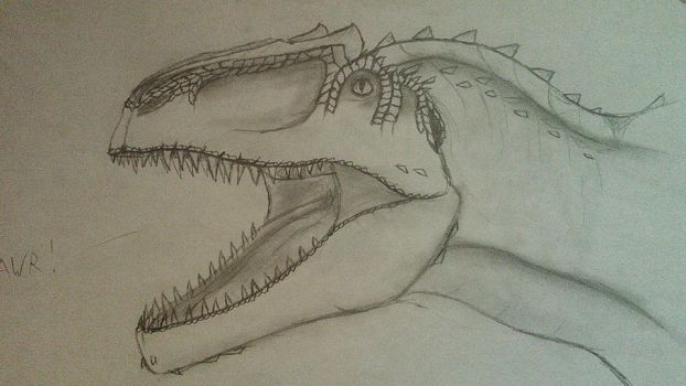 Giganotosaurus - Head by Fate-Darknu-Dragoon