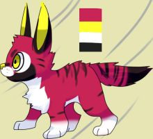 Caracal Tiger mix for sale by Pand-ASS