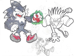 Sonic sketch 2 by eppoif1