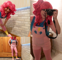 pinkie pie cosplay by xSaria
