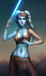 Aayla Secura by Mikesw1234
