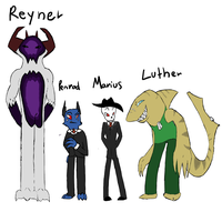 Supreme lider and company ref by Kryshoul
