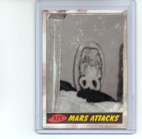 Mars Attacks sketch card by kettleart