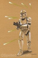 Clonetrooper by Timedancer