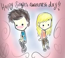singles awareness day by sachi92