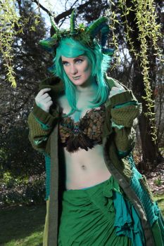 Green fairy 3 by RobynGoodfellow