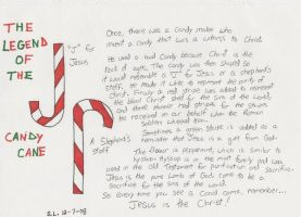legend of candy cane printable free bookmark printables of the candy