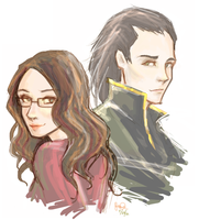 darcy and loki by happpenstance