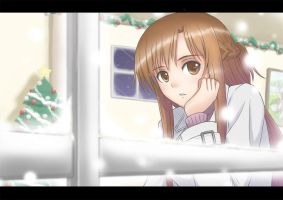 2014 Merry Xmas - Asuna by tonnelee