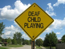Deaf Child... by ihatelife1029
