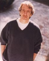 Signed photo by Alan Rickman 6 by JanuaryGuest