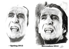 Draw this again - Christopher Lee by NicoleSt