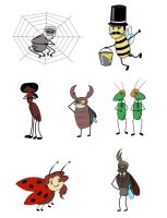 Bioshock Insects by Wolfenrayne