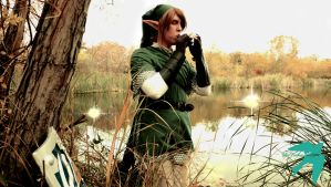 ''Serenade of Water'' - Ocarina of Time by BlueFeatherIllusions