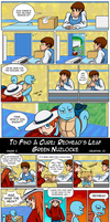 To Find a Cure: RedHead's LG Nuzlocke p5 by Vertigo-Gal
