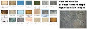 21 New MB3D Textures and color Maps Pack by Topas2012