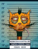 Animal Mugshot - C.Meow by fajlo