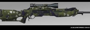 T&K CCC Thornweld M 2168-44 Sniper Rifle by BlackDonner