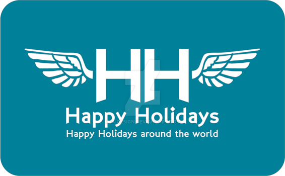Happy Holidays Logo - Try by 1A-Design