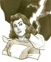 Golden Age Mary Marvel - final by hoppers13