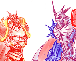 Royal Knights by reptalizer